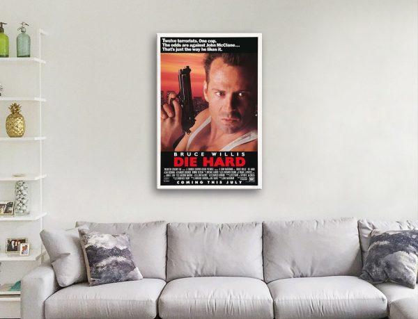 Bruce Willis Quality Movie Poster AU