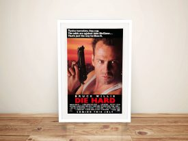 Die Hard Framed Wall Art