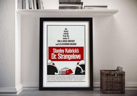 Dr Strangelove Framed Print on Canvas for Sale