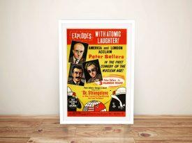Dr Strangelove Classic Movie Poster Art