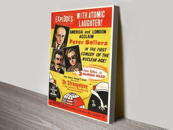 Dr Strangelove Vintage Canvas Poster Art AU