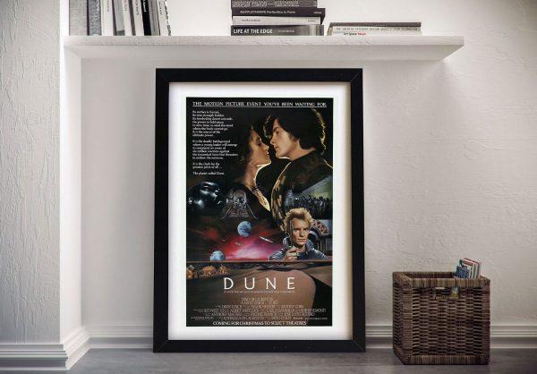 Dune Movie Poster Framed Wall Art