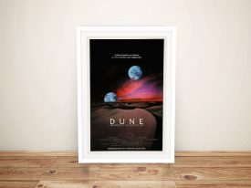 Dune Poster Framed Wall Art