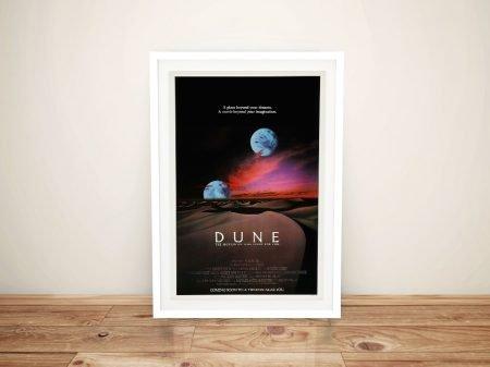 Dune Poster Framed Wall Art