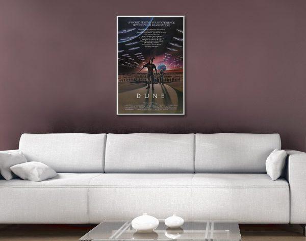 Dune Canvas Artwork