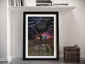 Dune Movie Poster Wall Art Print