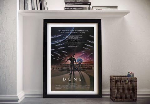 Dune Movie Poster Wall Art Print
