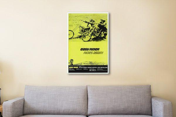 Easy Rider 065fc8ce Canvas Artwork