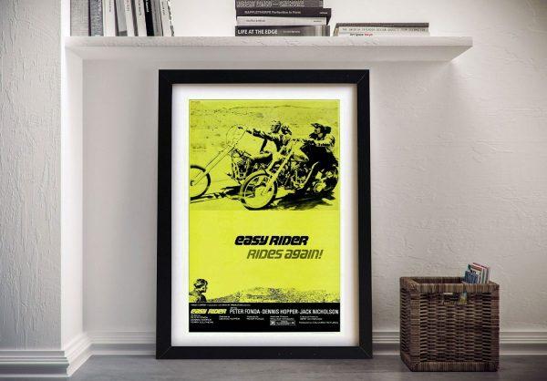 Easy Rider Framed Movie Poster