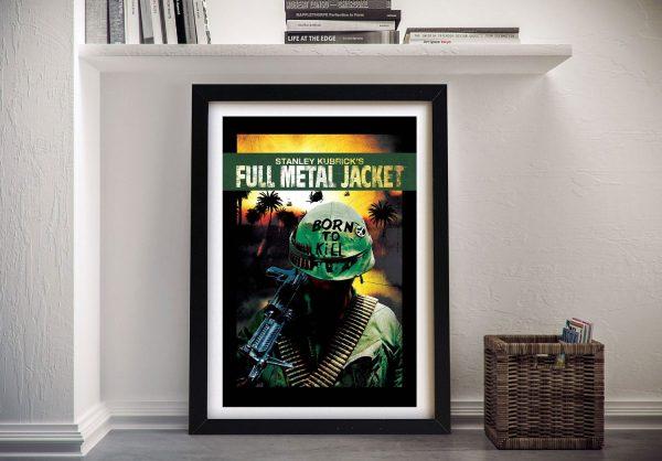 Full Metal Jacket Canvas Movie Poster Art