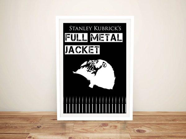Full Metal Jacket Framed Movie Poster Wall Art