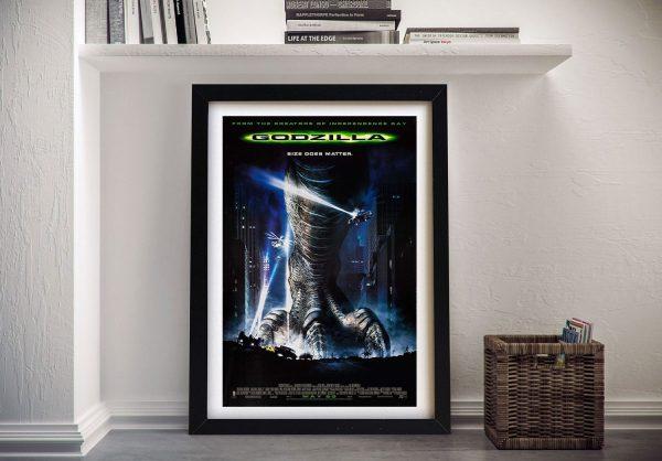 Buy a Framed Canvas Godzilla Movie Poster