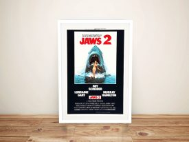 Buy a Framed Jaws 2 Movie Poster Print