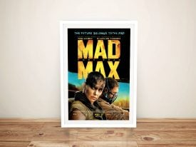 Buy a Framed Mad Max Fury Road Poster