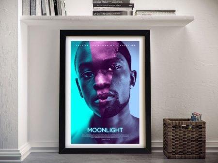 Moonlight Framed Movie Poster Wall Art