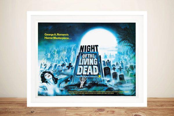 Night of the Living Dead Framed Poster Print