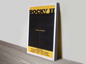 Rocky II Canvas Movie Poster Artwork