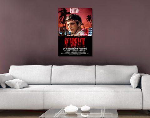 Vintage Movie Posters Quality Canvas Art AU