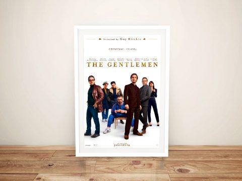 The Gentlemen Movie Poster Wall Art Online