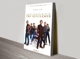 The Gentlemen Movie Poster on Canvas