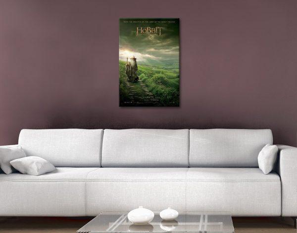 Ready to Hang Hobbit Movie Poster Print