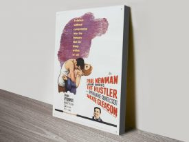 The Hustler Vintage Movie Poster Print