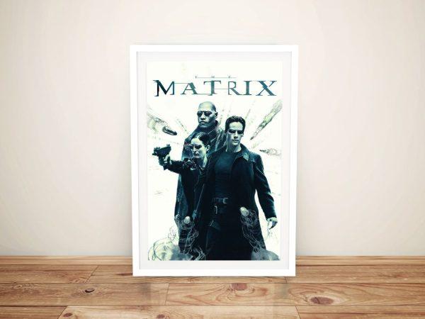The Matrix Framed Poster Home Decor AU
