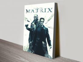The Matrix Canvas Movie Poster Print