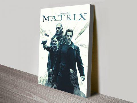 The Matrix Canvas Movie Poster Print