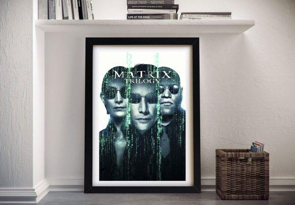 Framed Matrix Movie Poster Wall Art