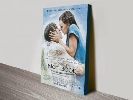 The Notebook Canvas Movie Poster Artwork