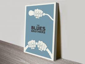 The Blues Brothers Movie Poster Wall Art