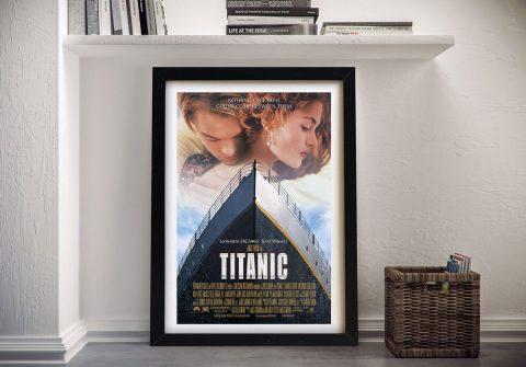 Titanic Movie Poster Framed Wall Art