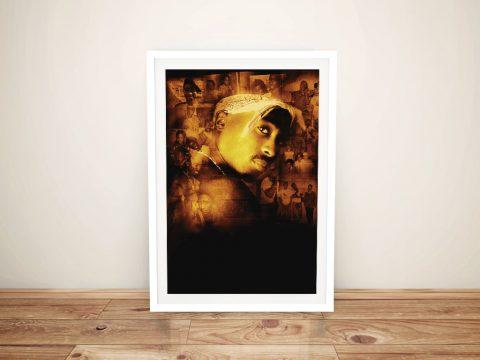 Framed Tupac Resurrection Movie Poster