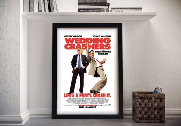 Wedding Crashers Framed Movie Poster AU