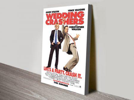 Wedding Crashers Canvas Movie Poster