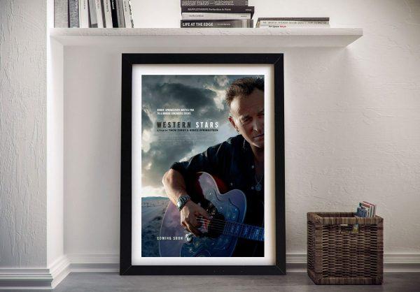 Western Stars Bruce Willis Poster on Canvas