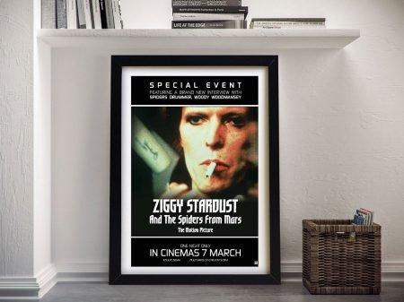 Buy a Framed Ziggy Stardust Poster Print