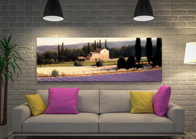 Lavender Fields ll James Wiens Canvas Art