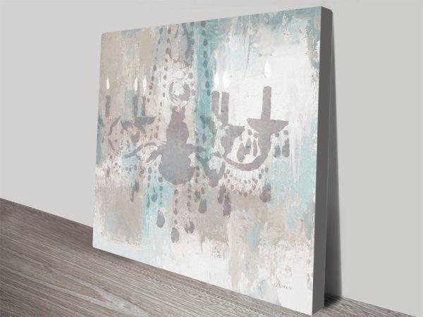 Candelabra Teal James Wiens Art for Sale AU