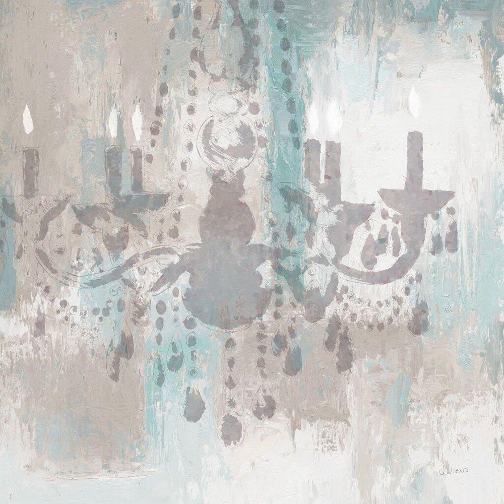Candelabra Teal Affordable James Wiens Art
