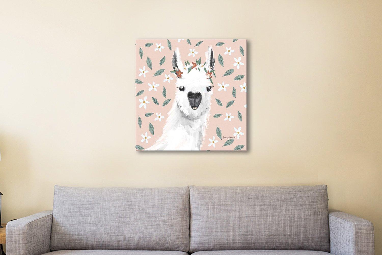 Ready to Hang Alpaca Canvas Print Online