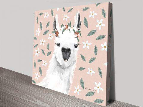 Delightful Alpacas Julia Purinton Wall Art