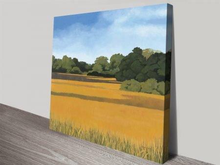 Across from Pond Bridge Kathrine Lovell Art