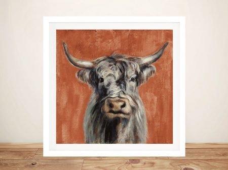 Highland Cow Silvia Vassileva Canvas Art