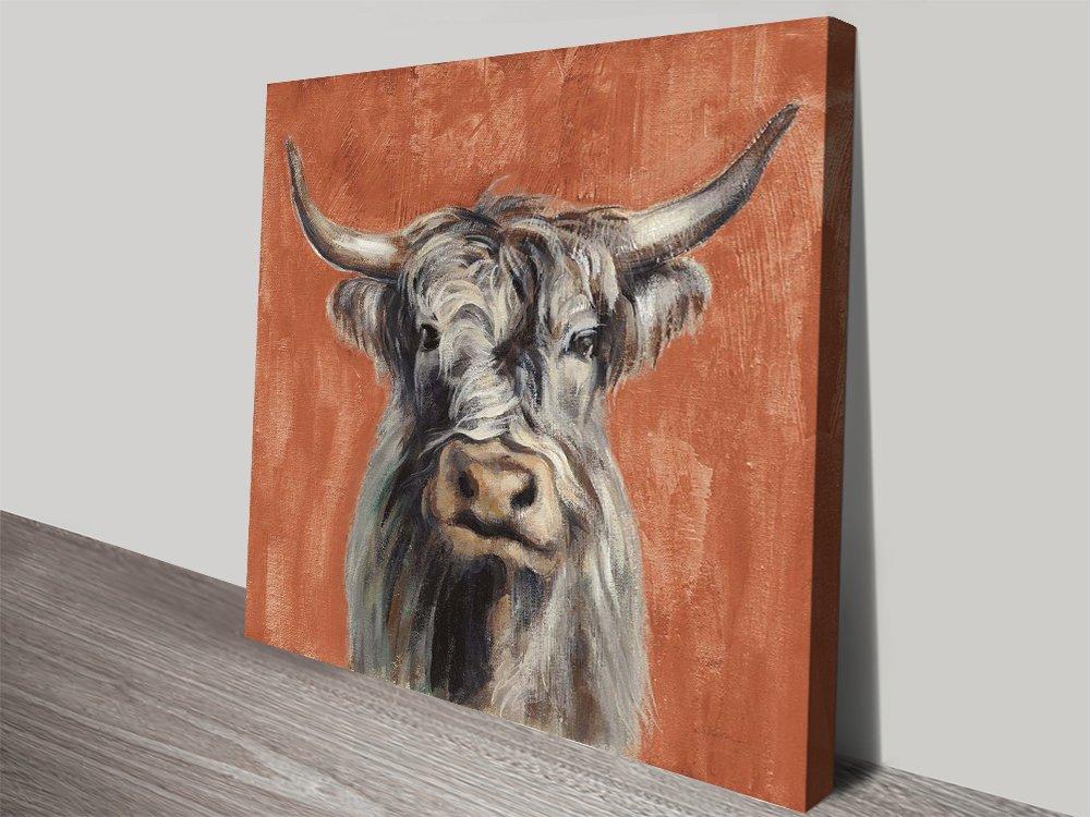Highland Cow Artwork Unique Gifts Online
