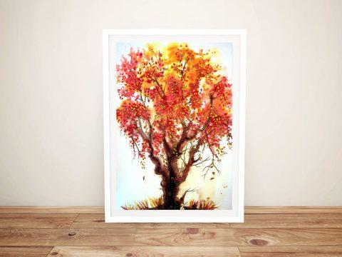 Autumn Jewels Framed Contemporary Art
