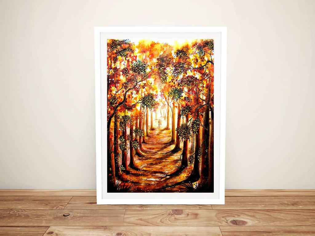 Autumn Stroll Framed Art Gift Ideas AU