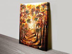Autumn Stroll Wall Art by Linda Callaghan