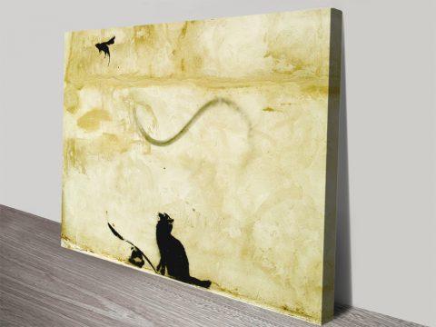 Cat & Mouse Art Cool Gift Ideas for Sale AU